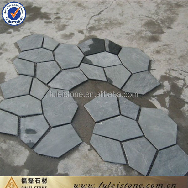 good price irregular stone slate patio pavers ideas lowes rubber how to lay