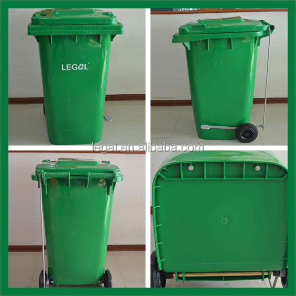 Plastic Wheelie Container 120l/240l/360l/660l/1100l Plastic Mobile ...