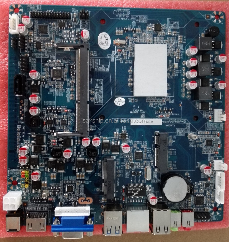 factory OEM Intel i7 motherboard for notebook memory up to 8GB