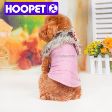 Hoopet Pet Cushion Cute Fake Fur Dress For Dog
