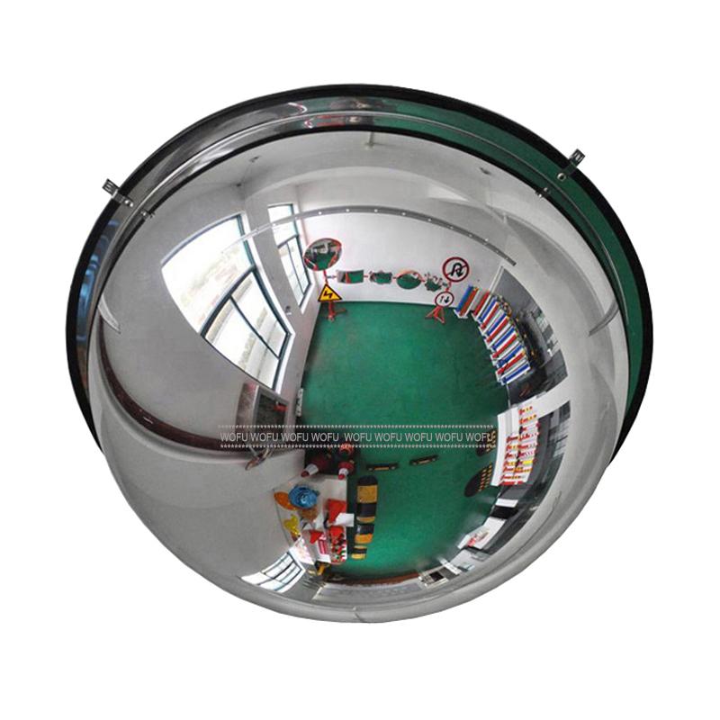 Espejo Convexo 30 Cm Acrilico C Pula De Gran Angular