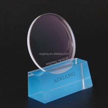 1.56 UV400 hmc emi plastic lens manufactures lens optical lens