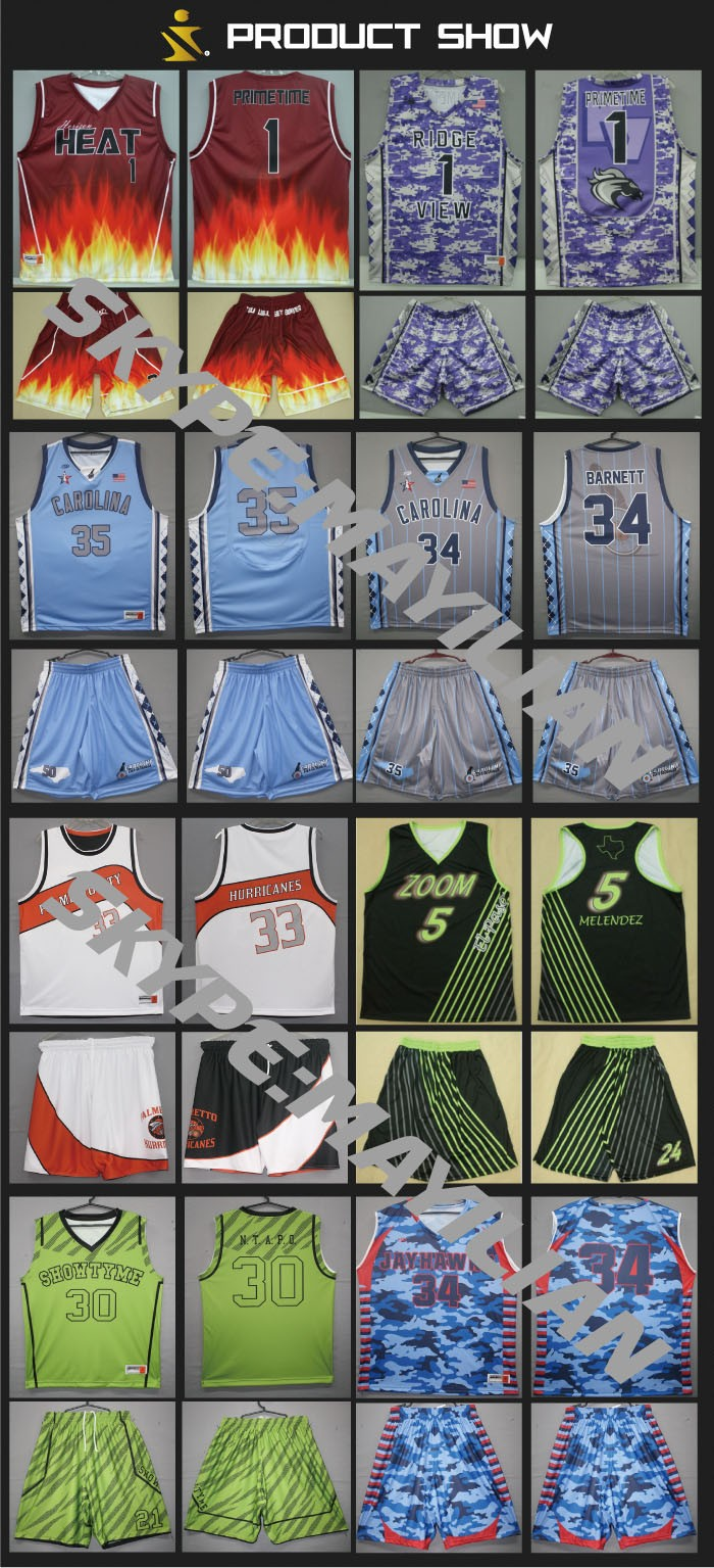 139f1e5967c Custom design full dye sublimation digital basketball uniform with team logo