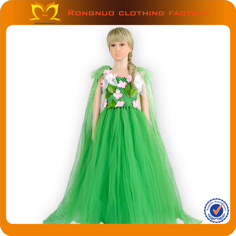 cf458e0b5f18 Lovely Girls Festive Baby Puffy Dresses Children Fancy Chiffon Tutu ...