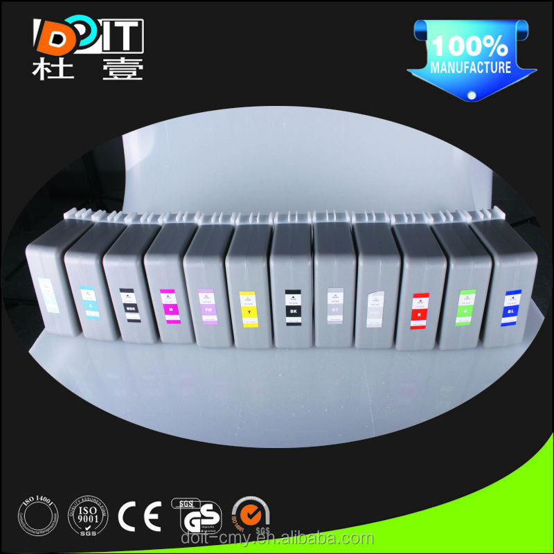 Made in China Wide format printer compatible for Canon ipf 8100 ink cartridge