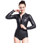 3mm smooth skin women swimming wetsuits custom short surfing ladies wetsuit