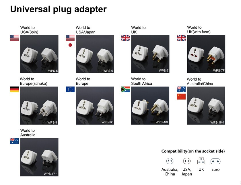 2 Pin To 3 Pin Electric Shaver Plug Adaptor For Bathroom ...