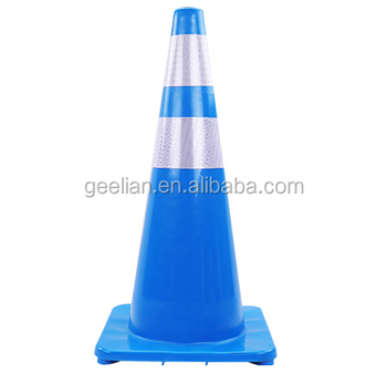 Safety cone 36 inches with 2 reflection tapes (4 inches each) PROMOTION