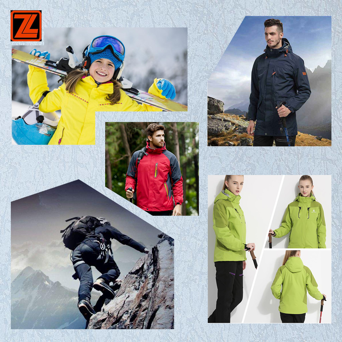 Make to order 250gsm softshell 75D mechanical 4 way stretch fabric with TPU membrane bond mesh fabric for jacket