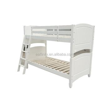 Jg Yh 039 Pine Single Black Bunk Bed For Kids