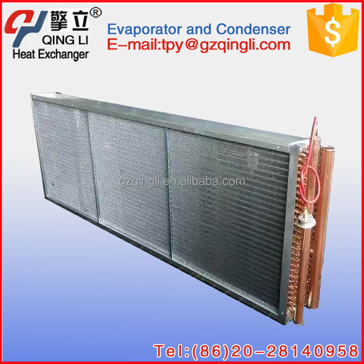 Manufacturing water vapor condenser with copper condenser tube