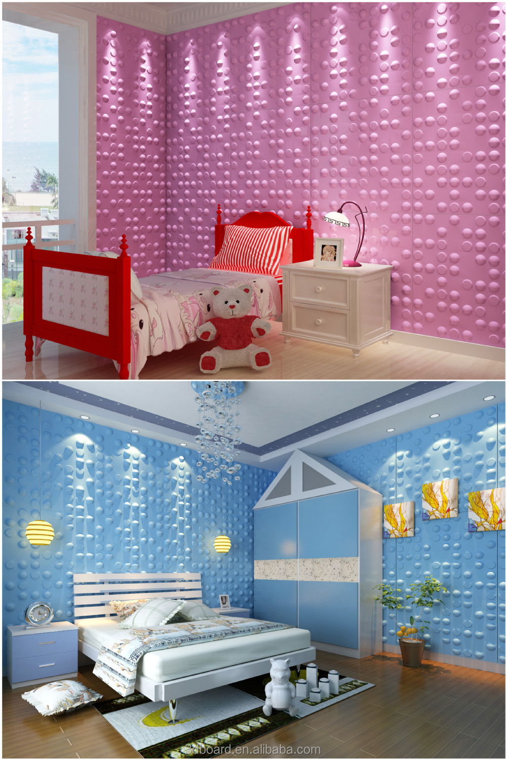 modern wall art decor interior 3d effect wall panels for. Black Bedroom Furniture Sets. Home Design Ideas