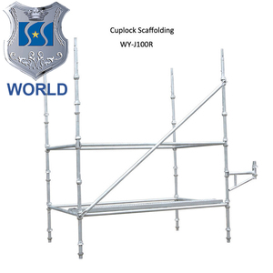 Safety Q235 Q345 galvanized a frame scaffolding to malaysia