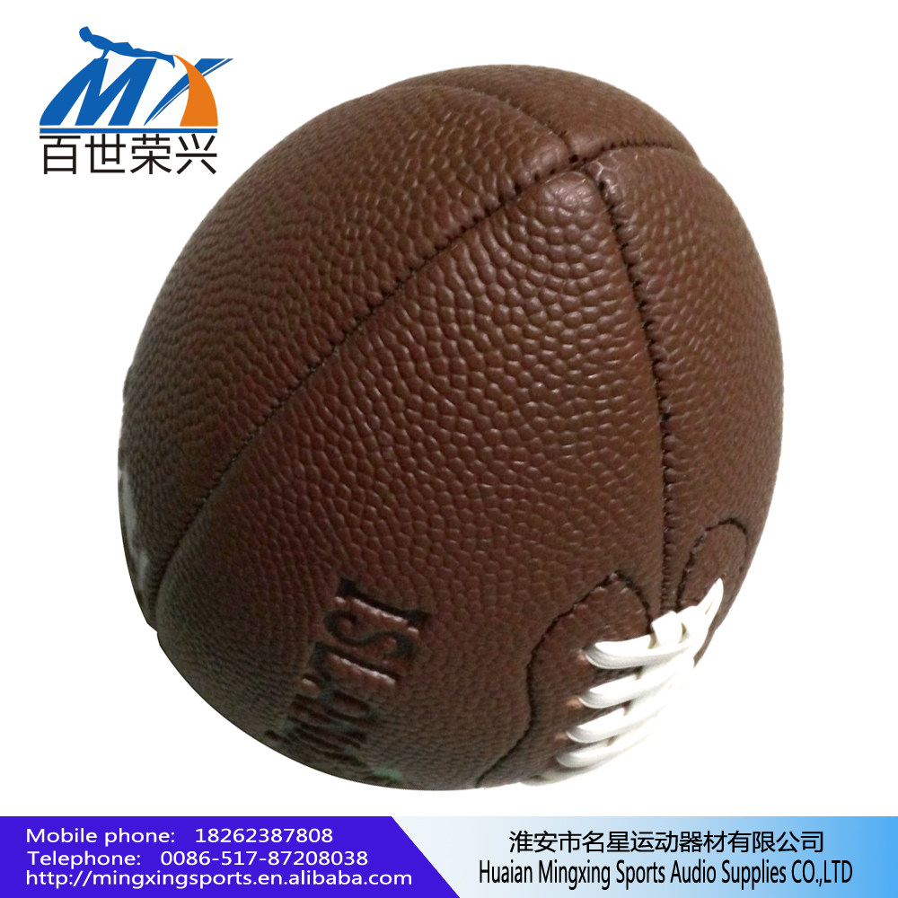 Pvc Pu Leather American Football/ Rugby Ball 3.0mm pvc leather 180g 211