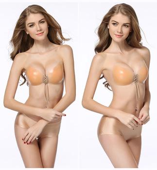 fc6571b2299ff Sexy Super Push Up Bra Lace Big Cup Backless Strapless Bras For Women  Wedding Bikini