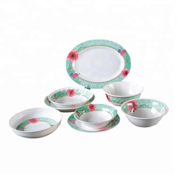 Factory Price Set High Quality Melamine Dinnerware Set