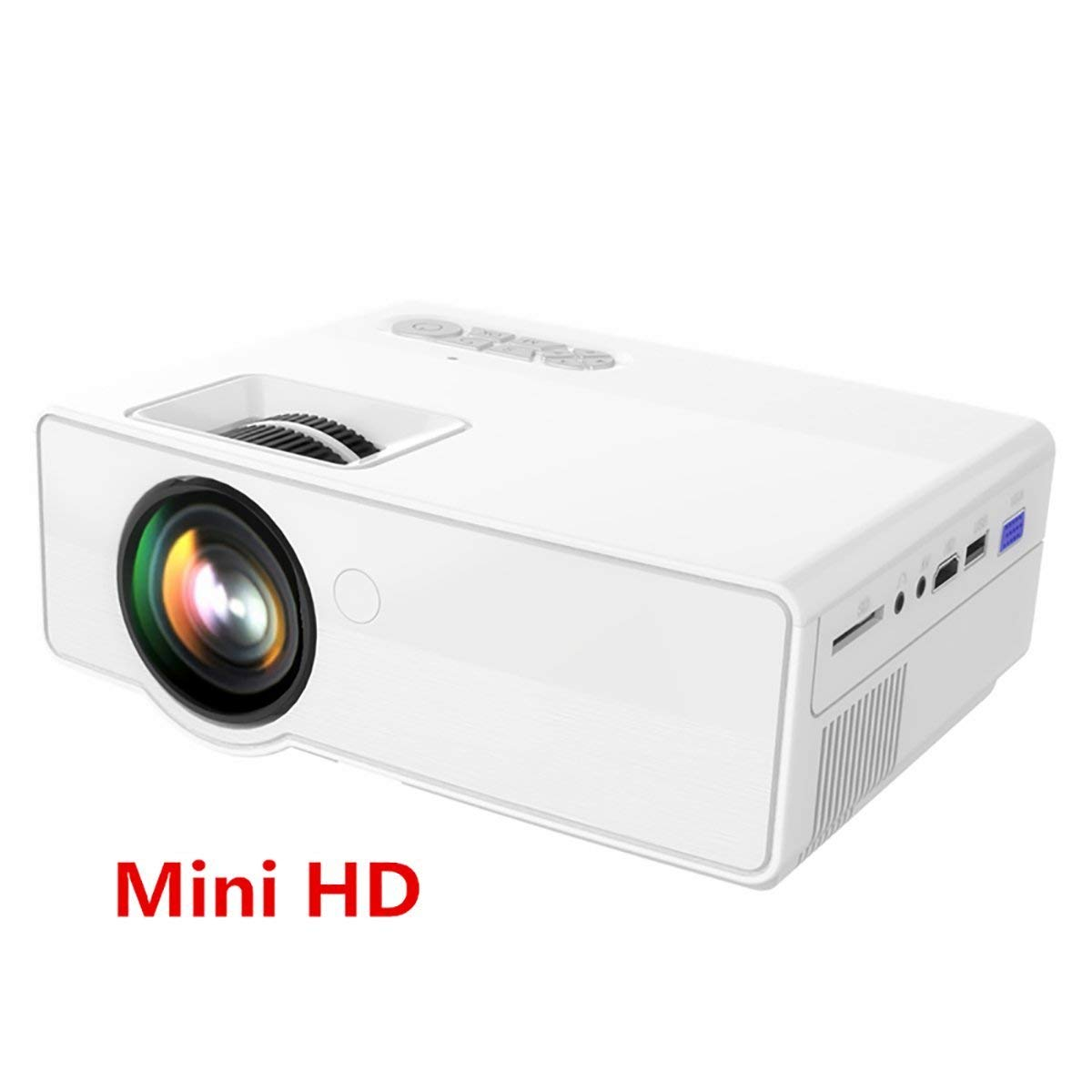 Get Quotations · Mini LED Home Theater Single LCD Portable Projector B01  Support 1080P and Wifi, Cinema Small