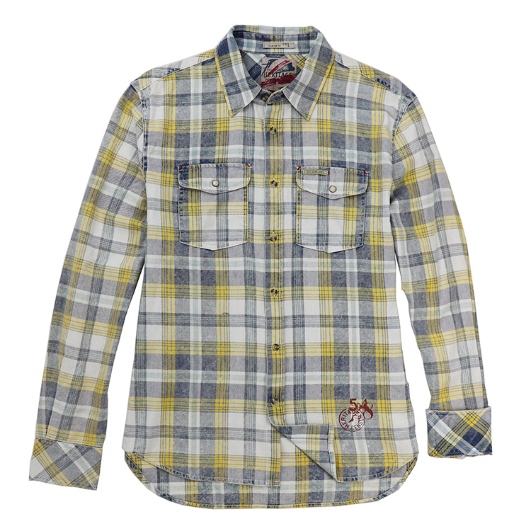 Heavy Enzyme Washed Shirts of Men