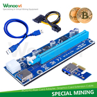 Pci e x16 riser card usb Great Hits pci-e riser adapter pcie 1x slots usb riser card pcie x1
