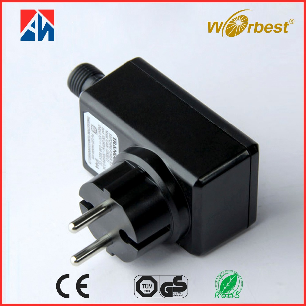 High quality CE GS ERP ROHS 24w 12v 500mA IP44 6w led modules switching power adapter