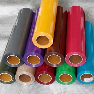 PU/PVC/Glitter/Flock/Reflective/Printable Garment Cutting Textile Heat Transfer Vinyl Film