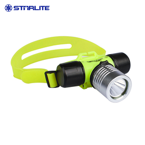 Diving rechargeable led headlamp head lamp torch light