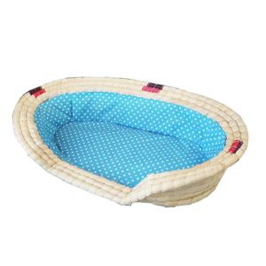 Cheap Dog Pet Wicker Willow Basket Bed