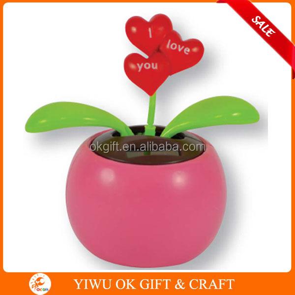 Solar Toys Valentine : Valentine s day solar dancing flower shake toys