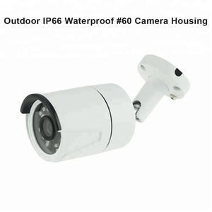 36 led Outdoor IP66 Waterproof Security monitoring surveillance CCTV Bullet Camera case Housing covering shelling case