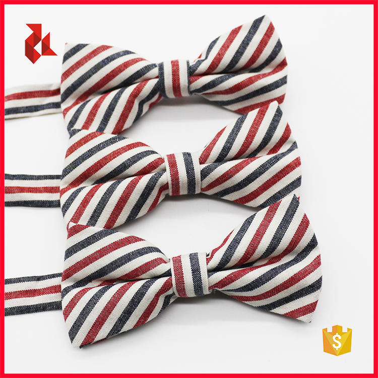 Excellent Quality Cotton Woven Bow Ties Box Set