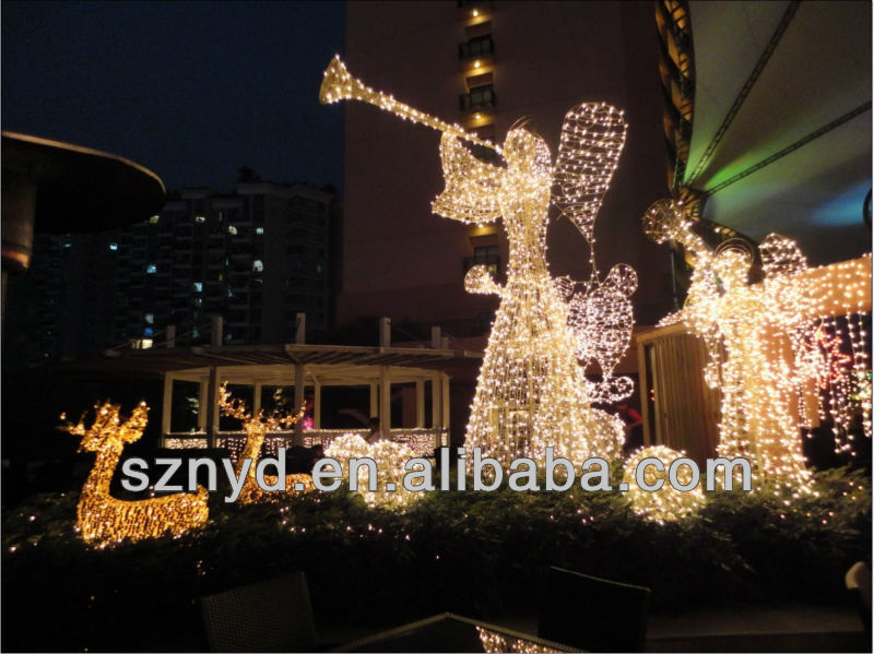 Led Angels For Outdoor Christmas Decoration 2014 - Buy Outdoor ...