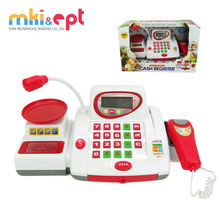 Hot selling kids electronic cashier toy with top quality