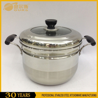 high quality japanese steamer pot stainless steel food steamer