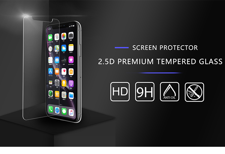Tempered Glass for iPhone All New Models 11 11 Pro 11 Pro Max Screen Protector