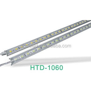 Single color DC12V SMD 5050 LED Hard Strip Bar Light Aluminum + PCB + Epoxy LED Bar Light