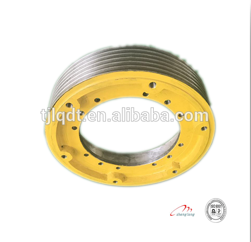 hitachi high quality construction traction elevator wheel of elevator parts