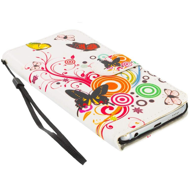 Newest Creative Four Color Printing Leather Phone Cover Case ...