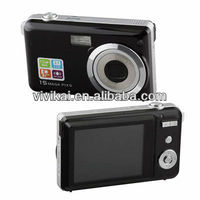 Best Quality 15MP Digital Compact Camera with 3X Optical zoom+ 4X Digital Zoom