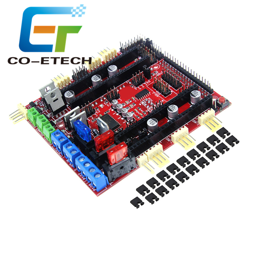 3D Printer 32bit Control Board For Reprap RAMPS-FD Shield Cortex M3 <strong>ARM</strong> Improved Version By Ramps1.4