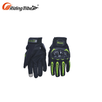 Oem Pu Leather For Skiing Gloves Pro Biker Riding Gloves
