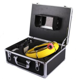 20Meters Water well Drain Sewer Pipe Inspection Camera HD 1200TVL with DVR video recording digital Pipeline Survey Pipe Camera