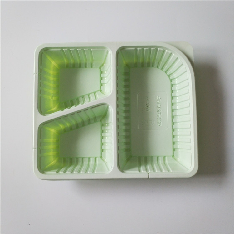 3 Compartment Disposable  food packaging trays