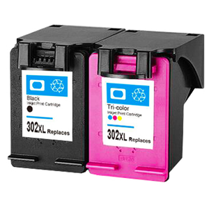 Compatible hp302 ink cartridge replacement for HP 2132 chip reset to full level for hp ink cartridge 302