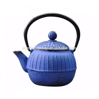 Hot Sale 0 5l Small Pumpkin Shape Japanese Cast Iron Teapot Buy