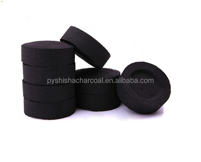 10pcs*10rolls/box 38mm electric shisha wood charcoal market