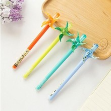 36 pcs/Lot Creative Candy color Big Windmills gel pens Stationery Office accessories School supplies Kawaii gift for child 1682