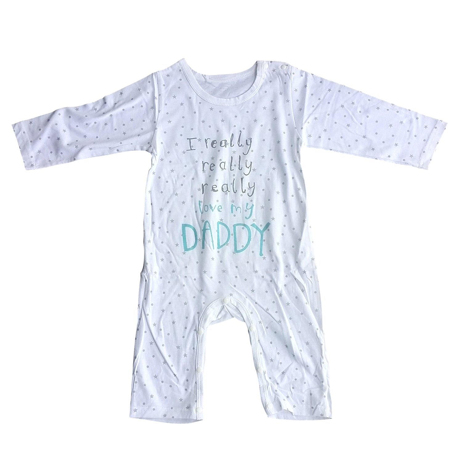 Buy TOOGOO R baby clothing uni baby rompers printed I really