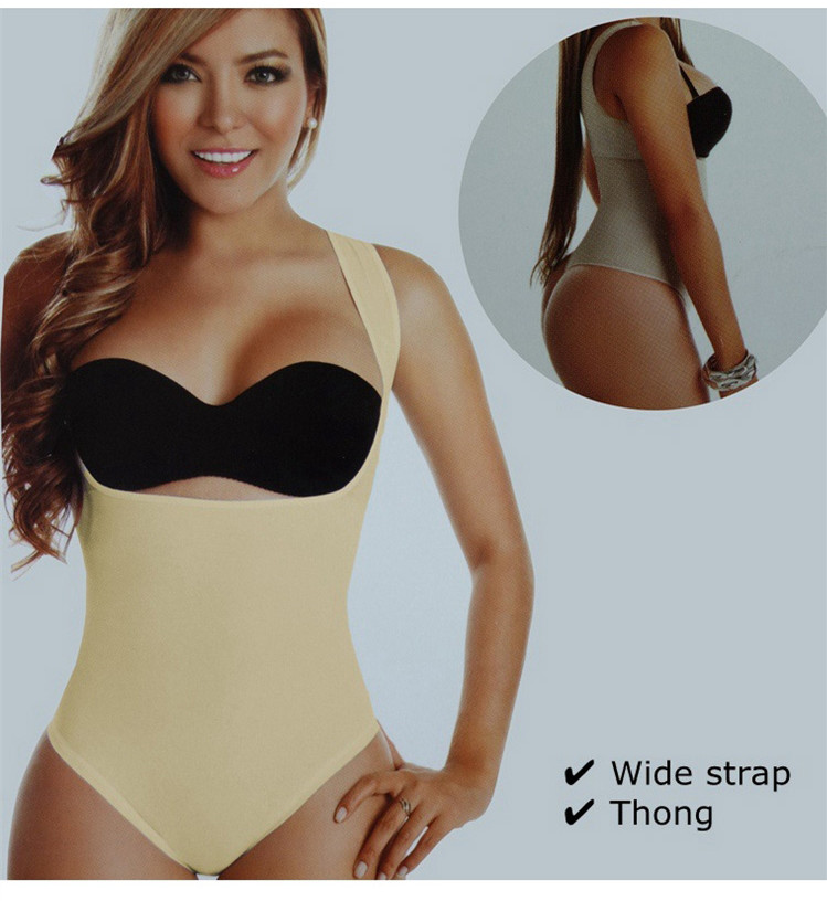 Women Slimming Camolise Bodysuit Seamless Body Shaper Plus Size Shaper Thong