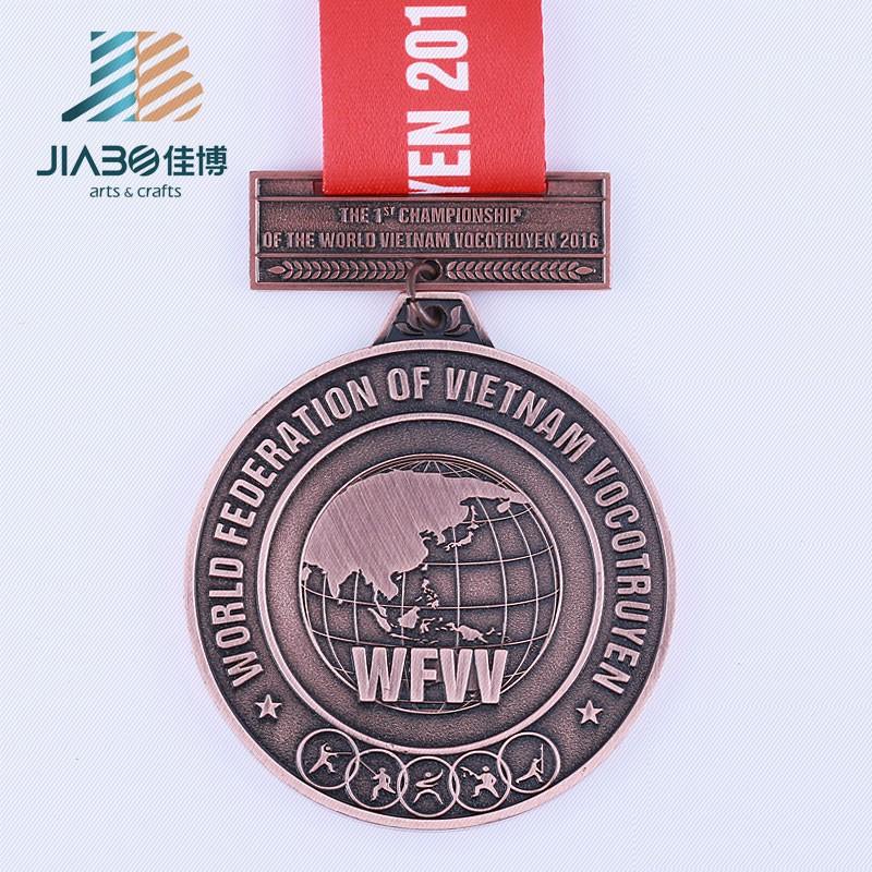 Jiabo Custom Make Metal Military 3d Medal Producer