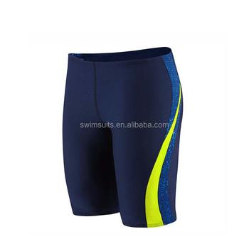 d92a0fd1e Non-formal men aquatic bathing suit swim training jammers swim shorts  compressed swimsuit